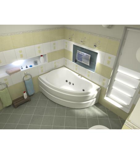 Акриловая ванна Алегра