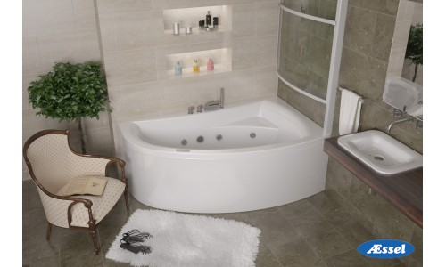 """Акриловая ванна """"Комо"""" (правая)"""