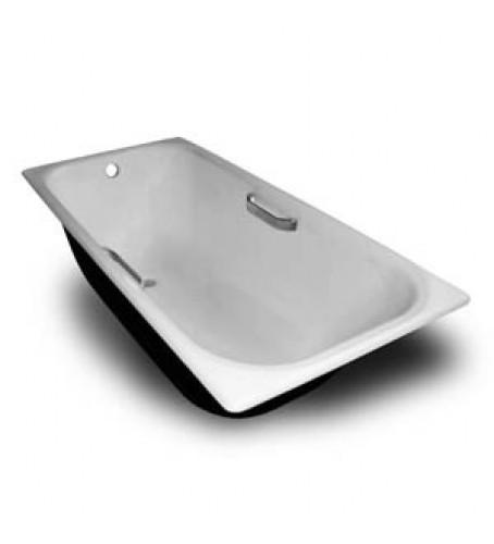 Ванна чугунная НОСТАЛЬЖИ 1500 Х 70 с ручками