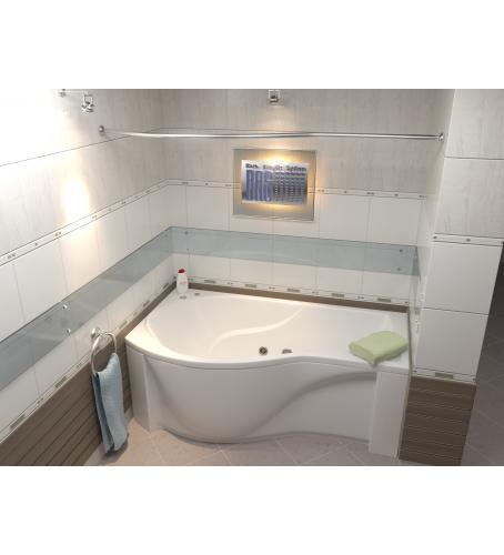 Акриловая ванна Капри