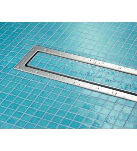 Дизайн-решетка ER4 750мм хромир.