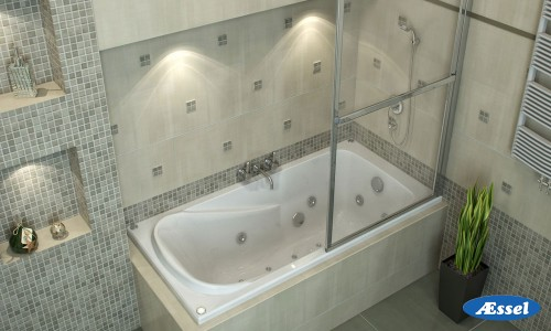 """Акриловая ванна """"Сена"""""""